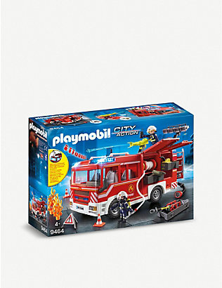 PLAYMOBIL: City Action fire engine set