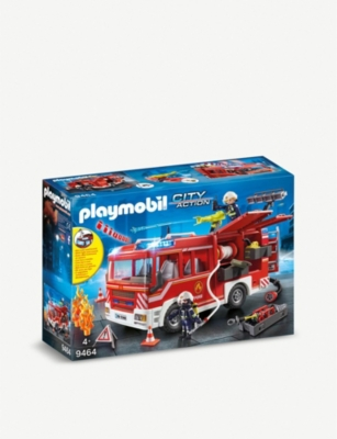 PLAYMOBIL City Action fire engine set