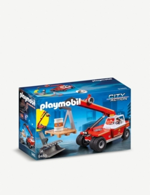 PLAYMOBIL City Action Fire Crane