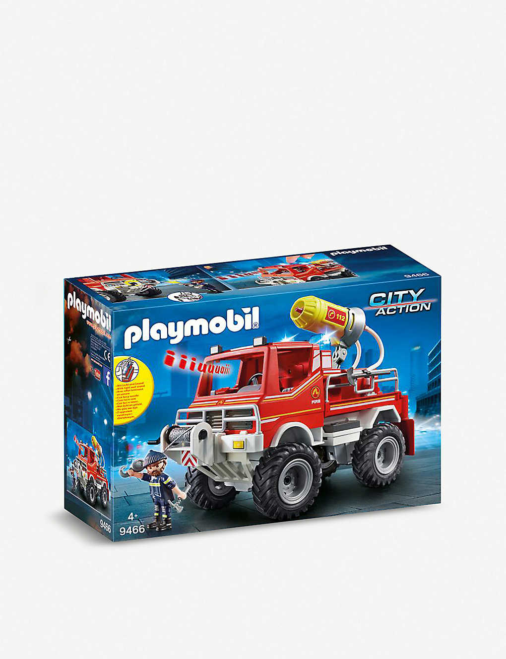 PLAYMOBIL: City Action fire truck
