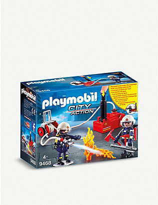 PLAYMOBIL: City Action firefighters and pump playset