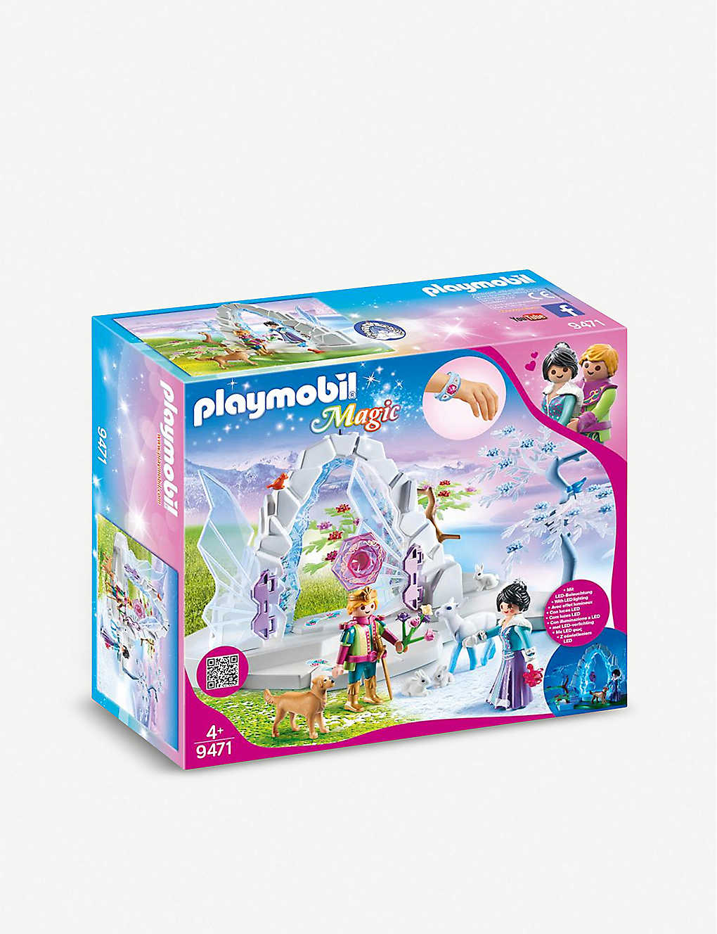 PLAYMOBIL: Magic Crystal Gate to the Winter World playset