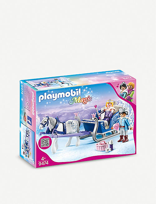 PLAYMOBIL Royal couple with sleigh