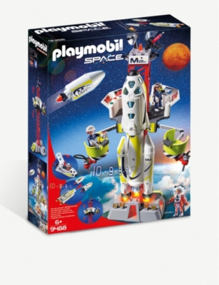 PLAYMOBIL Mission Rocket with Launch Site set