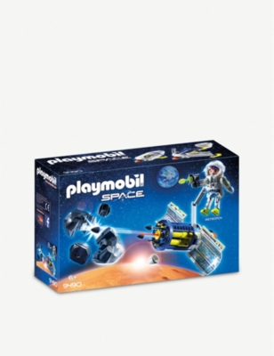 PLAYMOBIL Satellite Meteoroid Laser set