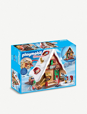 PLAYMOBIL Christmas Bakery with Cookie Cutters set 4+