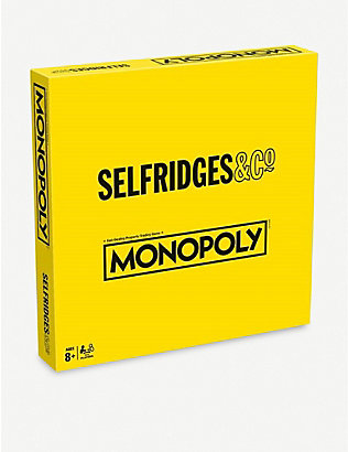 BOARD GAMES: Selfridges Monopoly board game