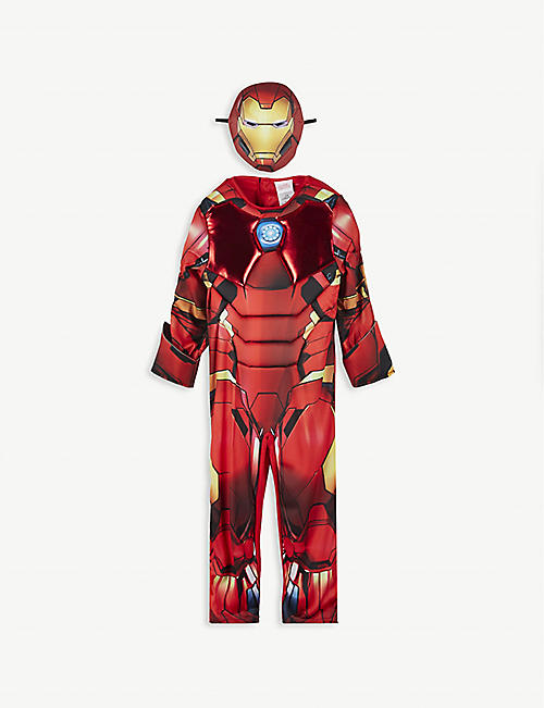 DRESS UP: Disney Iron Man fancy dress costume 5-6 years