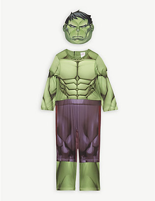 DRESS UP: Disney Hulk fancy dress costume 7-8 years