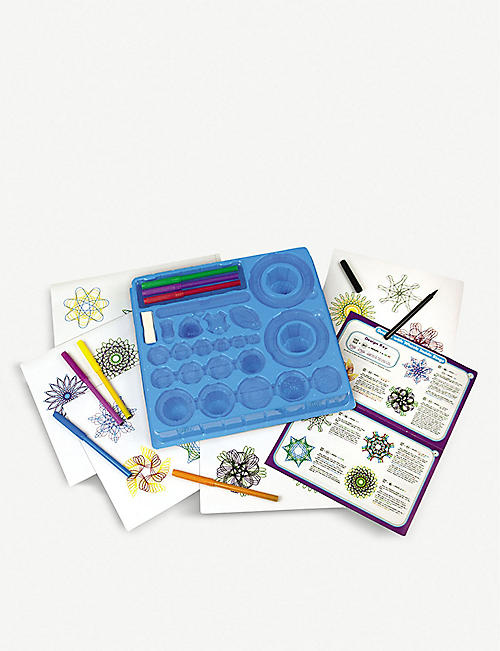 SPIROGRAPH: The Original Spirograph Set With Markers