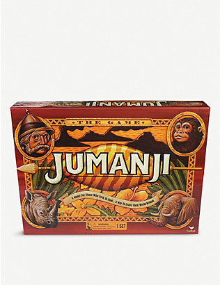 BOARD GAMES: Jumanji board game