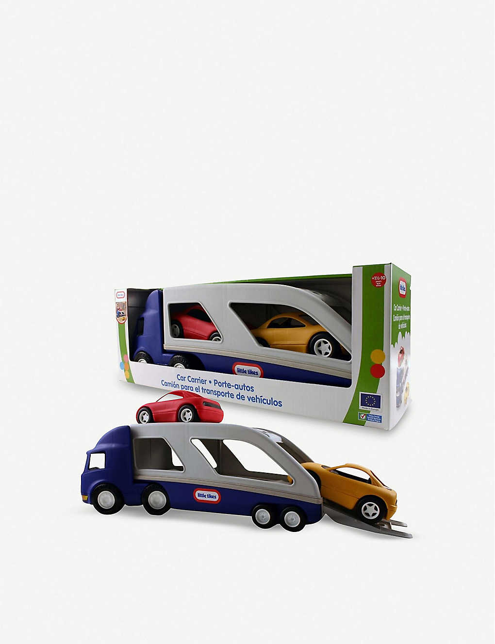 LITTLE TIKES: Large car carrier