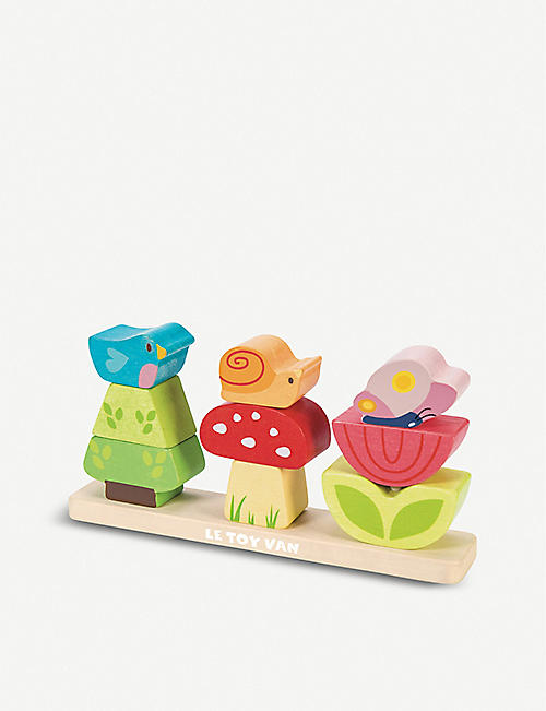 LE TOY VAN Stacking garden wooden toy set