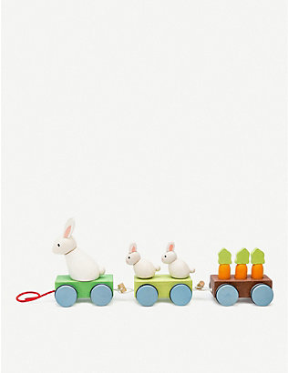 LE TOY VAN: Petilou Bunny Train