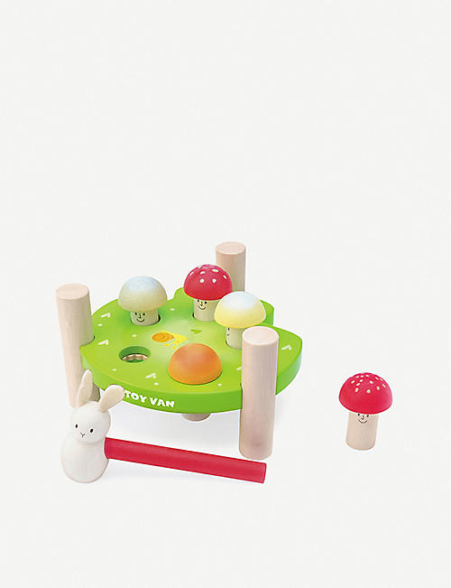 LE TOY VAN Petilou Mr Mushrooms hammer game