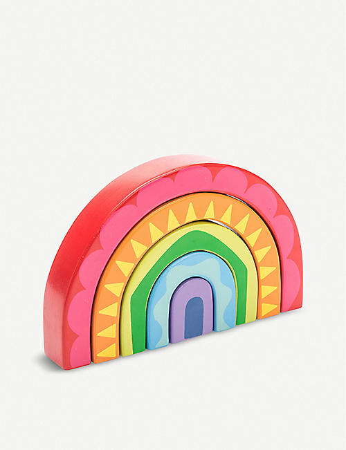 LE TOY VAN Rainbow Tunnel wooden toy