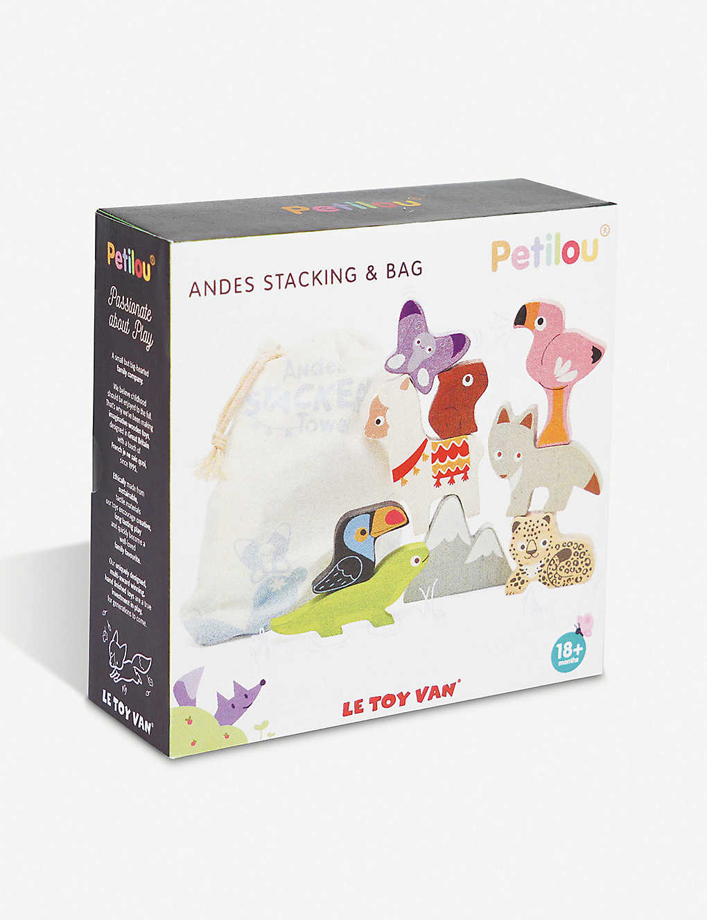 LE TOY VAN: Andes Stacking Tower and Bag