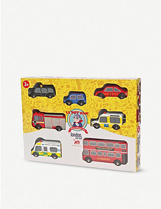 LE TOY VAN: London wooden vehicle set