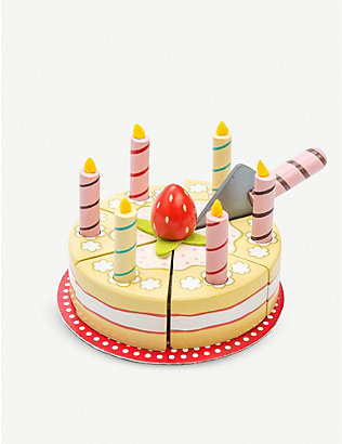 LE TOY VAN: Wooden birthday cake