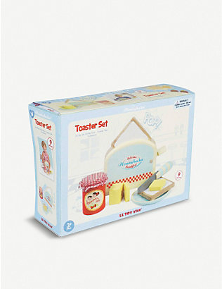 LE TOY VAN: Wooden toaster toy set