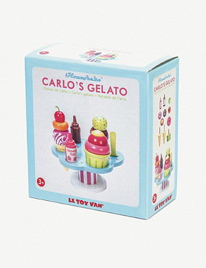 LE TOY VAN Carlos Gelato wooden toy set