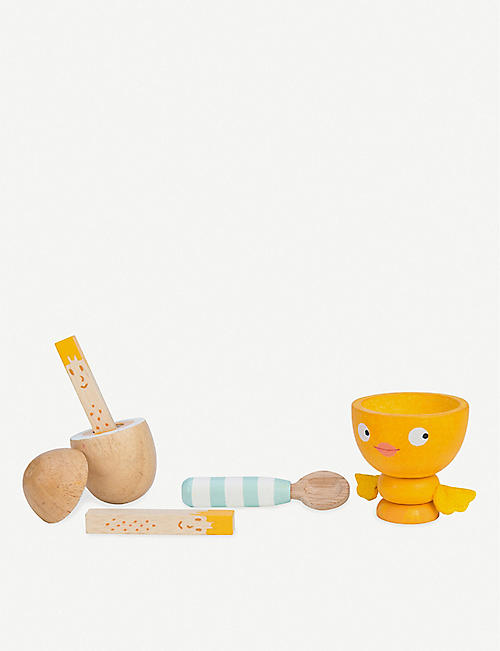 LE TOY VAN Chicky Chick Egg Cup toy set