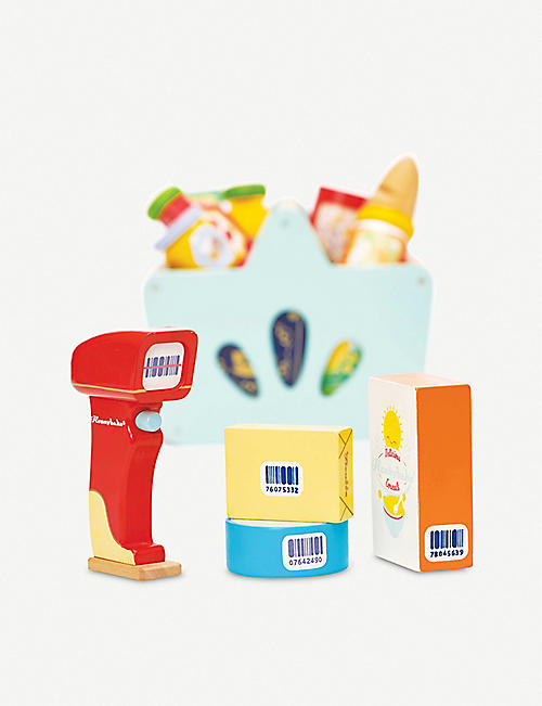 LE TOY VAN Grocery and scanner set