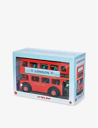 LE TOY VAN: Wooden Budkins London bus