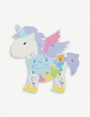 ORANGE TREE TOYS: Unicorn Number Puzzle