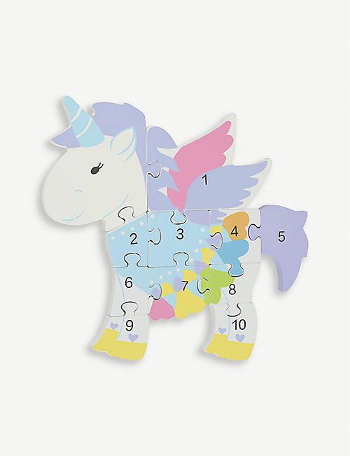 ORANGE TREE TOYS Unicorn Number Puzzle