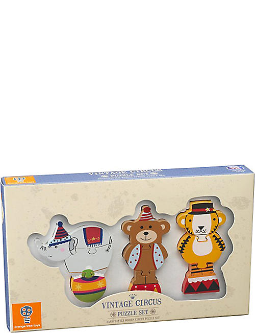 ORANGE TREE TOYS Vintage Circus mini wooden puzzle