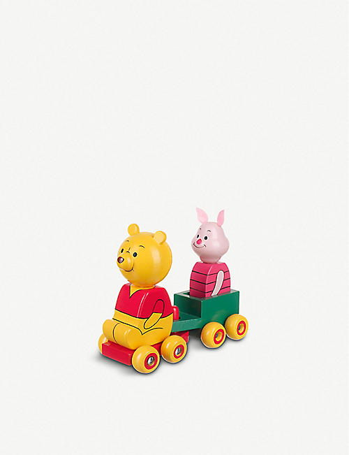 ORANGE TREE TOYS Winnie the Pooh & Piglet wooden cart