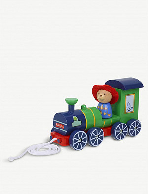 ORANGE TREE TOYS Paddington Bear 拉沿木火车