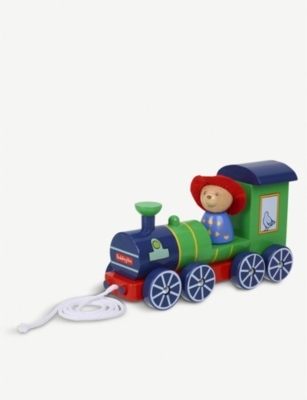 ORANGE TREE TOYS Paddington Bear pull-along wooden train