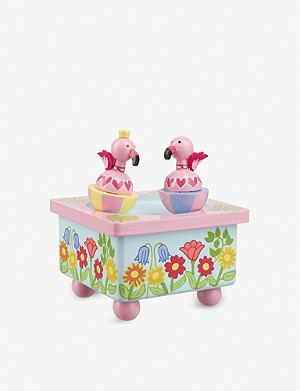 ORANGE TREE TOYS Flamingo wooden music box