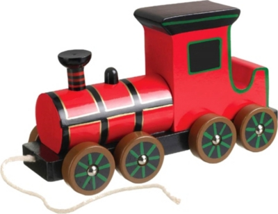 ORANGE TREE TOYS Steam train pull-along