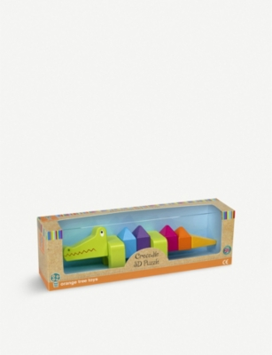 ORANGE TREE TOYS Crocodile 3D puzzle