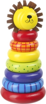 ORANGE TREE TOYS Lion stacking ring