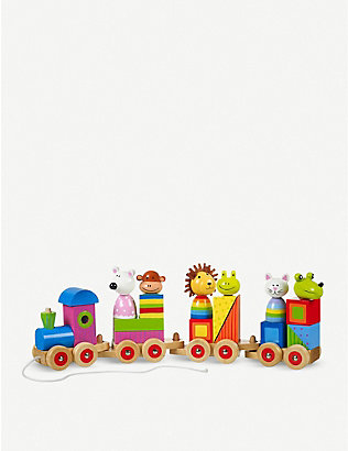 ORANGE TREE TOYS: Animal train puzzle