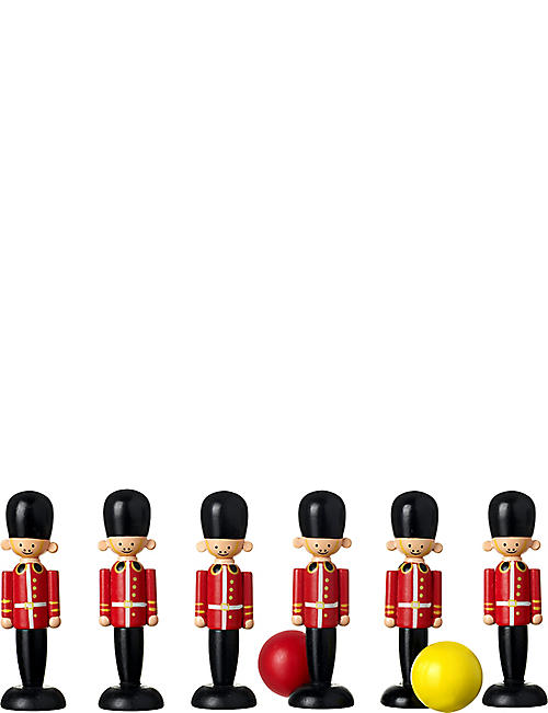ORANGE TREE TOYS Wooden soldier skittles