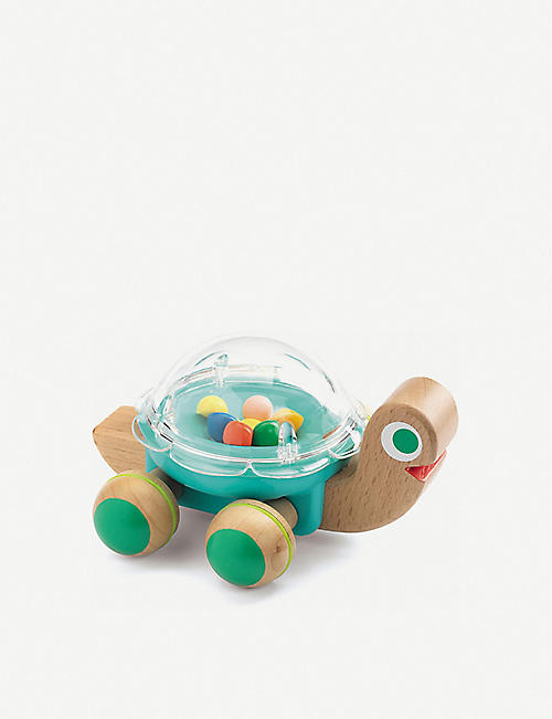 DJECO Lola wooden racing turtle