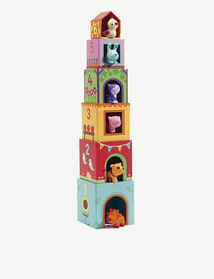 DJECO Topanifarm Stacking Cubes