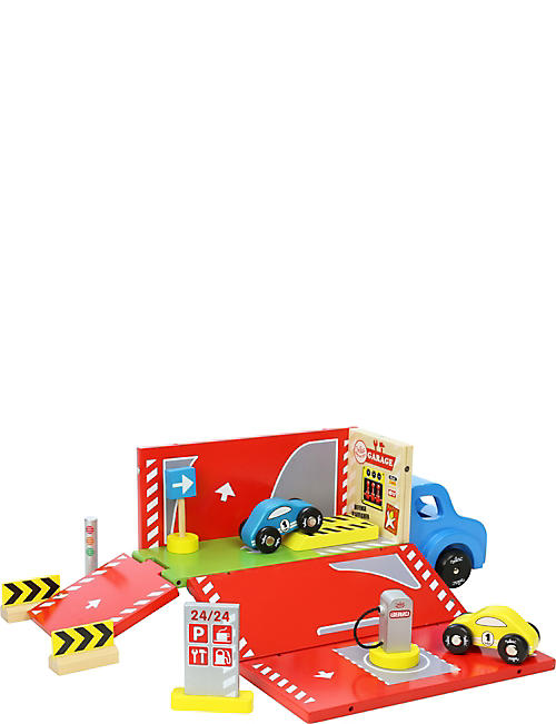 VILAC Garage lorry wooden playset
