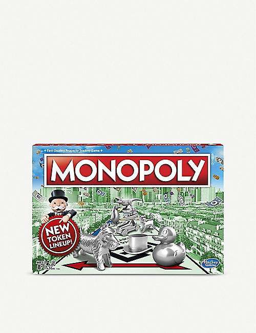 BOARD GAMES: Monopoly board game