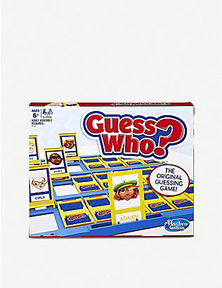BOARD GAMES: Guess Who game