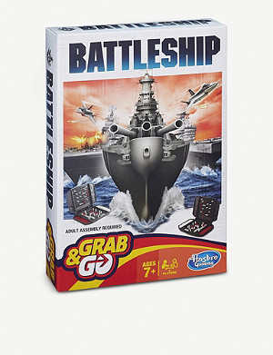 BOARD GAMES Battleship Grab & Go Game