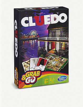 BOARD GAMES: Cluedo Grab & Go game