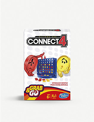 BOARD GAMES: Hasbro Gaming Connect 4 Grab and Go board game
