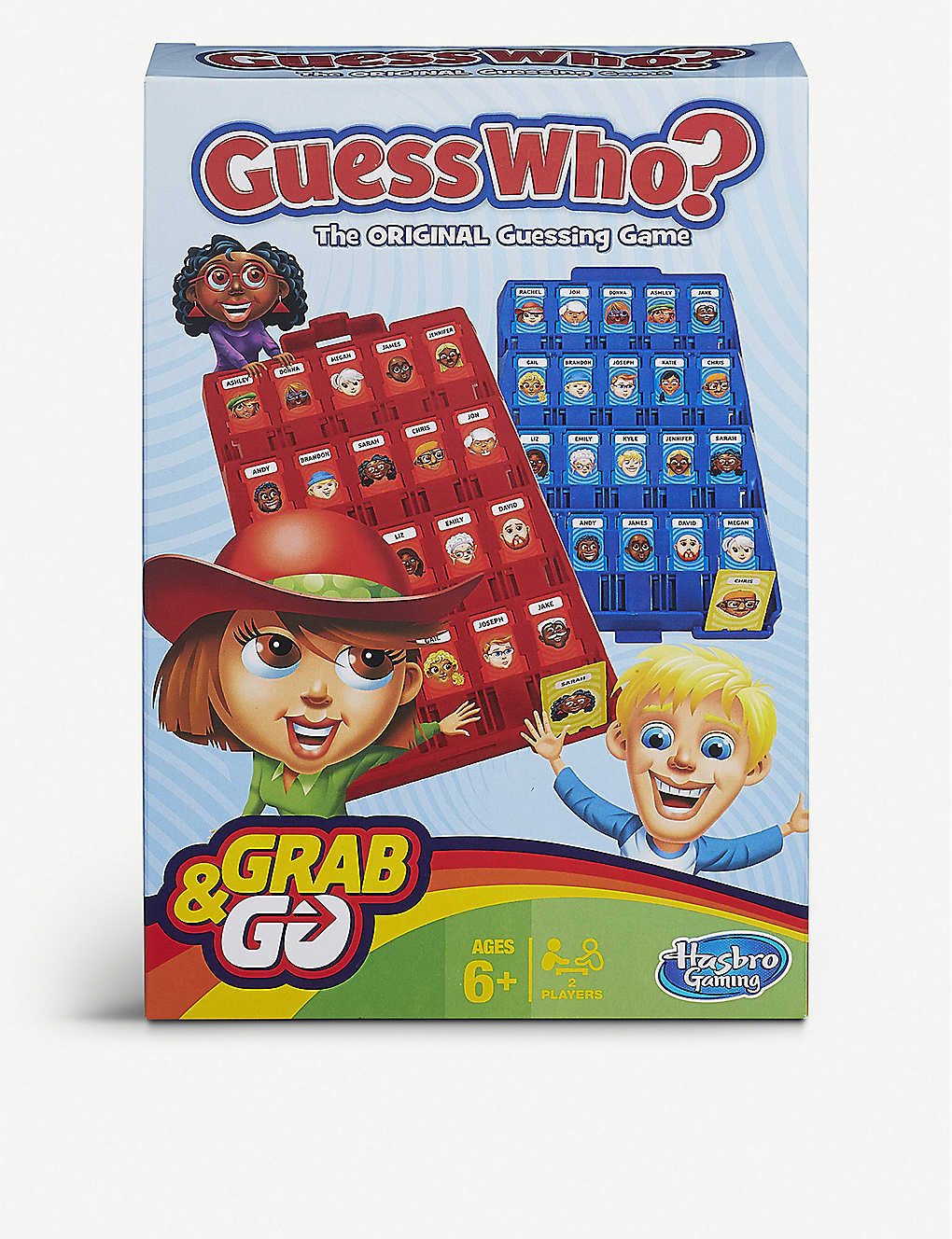BOARD GAMES: Guess Who? Grab and Go Game