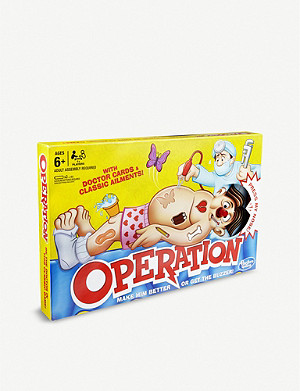 BOARD GAMES Classic operation board game